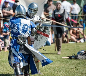 The Dragons Own Medieval Combat Group is a Calgary, Alberta based group of medieval entertainers who seek to provide an enjoyable medieval experience. Photo taken at Days of Yore 2017 by Alex Shemetov.
