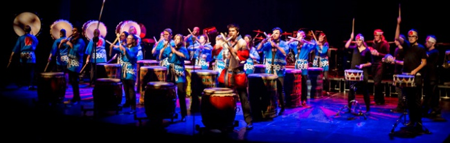 The U of L Global Drums under the direction of Adam Mason.